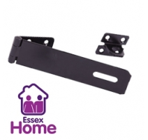 "3"" Black Safety Hasp & Staple - 75mm"