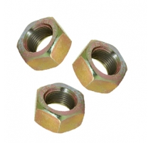 M8 X 1mm Fine Hexagon Full Nuts Zinc Plated BZP