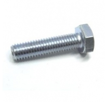 M6 X 12 HEXAGON SET SCREWS ZINC - BZP 8.8 HT