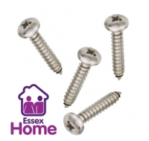 4 X 1/4 PAN POZI SELF TAPPING SCREWS ZINC BZP - 2.9 X 6MM