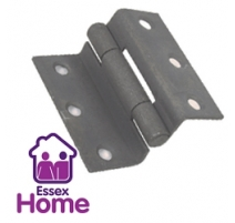 "2 1/2"" STORMPROOF HINGES CRANKED ZINC BZP - 63mm"