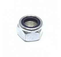 M2 Nyloc Nuts Zinc Plated BZP