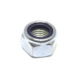 M6 Nyloc Nuts Zinc Plated BZP