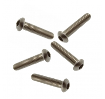 M5 X 6 SOCKET BUTTON SCREW A2 STAINLESS STEEL (304)