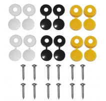 NUMBER PLATE FIXING KIT - 24 PIECE