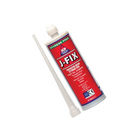 JCP J-Fix Polyester Styrene Free Resin - 410ml