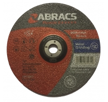 Abracs Phoenix 2 230 x 6 x 22,23mm Depressed Metal Grinding disc - 10 Pack