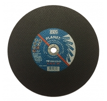 "Sait 300 x 3 x 20mm Flat Metal Cutting Disc 12"" - 10 Pack"