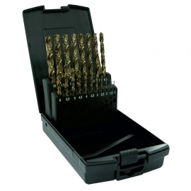 Dart 19 Piece HSS Tin Coated Drill Bit  Set