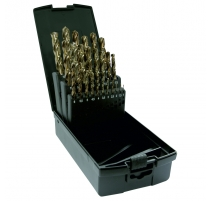 Dart 25 Piece HSS Tin Coated Drill Bit  Set