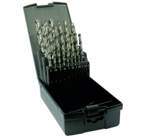 Dart 25 Piece HSS Ground Twist Drill Bit Set