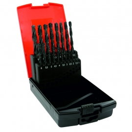 Dart 19 Piece Rolled HSS Twist Drill Set